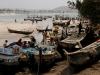 Fischerboote im Hafen von Nyanyano