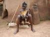 Native priest in Tongo