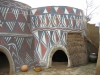 Traditional clay-house in Sirigu